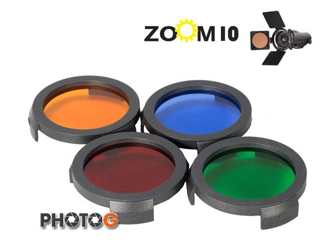 VISIO 光陽 ZOOM 10 zoom10 LED 專用濾鏡 共四色 橘 紅 藍 綠 MIT 台灣製