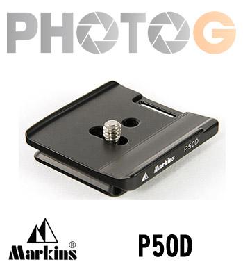 Markins Camera Plate P50D 快拆板 ( Canon 50D專用)