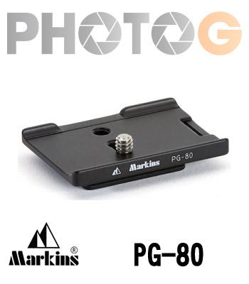 Markins Camera Plate PG-80 快拆板 ( PG80 ,Nikon D90 專用)