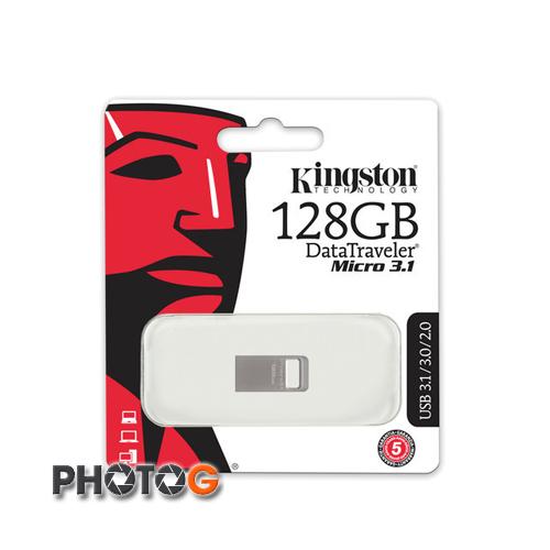 KingSton 金士頓 128G 128GB DataTraveler Micro 3.1 隨身碟 DTMC3 / 128GB (免運費)