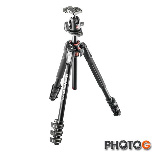 Manfrotto 190 MK190XPRO3-3W 含 MHXPRO-3W 雲台 鎂鋁合金 三節套組 三腳架 攝影腳架 (正成公司貨)