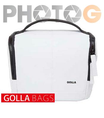Golla 玩趣系列相機包-清透 白 M G1561