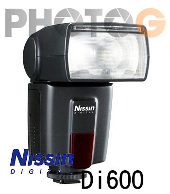 NISSIN Di600 閃光燈 (600,含稅開發票;捷新公司貨一年保固,Canon /Nikon /Sony )