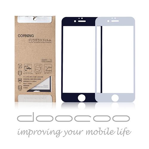 doocoo Apple iPhone6 PLUS 5.5吋 康寧全滿版抗藍光玻璃保護貼