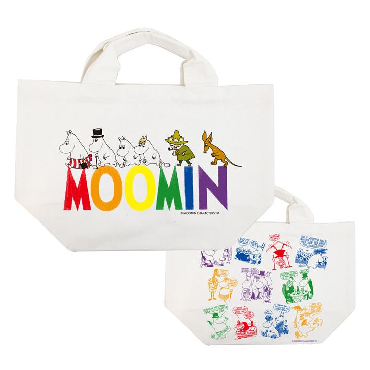 Moomin嚕嚕米正版授權 - 托特包:【 Happy Family 】