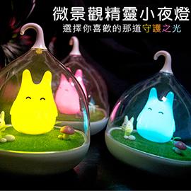 超萌童話微景觀小精靈LED床燈/小夜燈