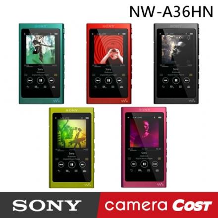 Sony NW-A36 Walkman 數位隨身聽 內建32GB 公司貨 MP3 可外接MicroSD記憶卡擴充 sony NW-A36HN