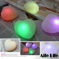 【aife life】七彩LED心型燈/七彩愛心燈/宴會燈LED愛情燈心形燈愛情燈製造浪漫婚禮會場佈置