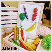 【aife life】蔬菜水果造型筆/中性原子筆 造型原子筆 圓珠筆 蔬菜筆 水果筆 磁鐵筆