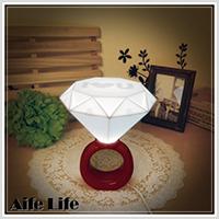【aife life】鑽戒燈/LED浪漫情侶小夜燈 鑽石燈 戒指燈 檯燈情人創意禮物