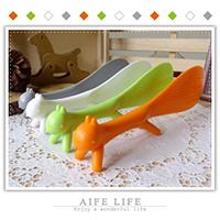 【aife life】MIT台灣製松鼠立式飯勺/飛鼠飯勺/創意造型飯勺/不黏米飯勺/廚房用具