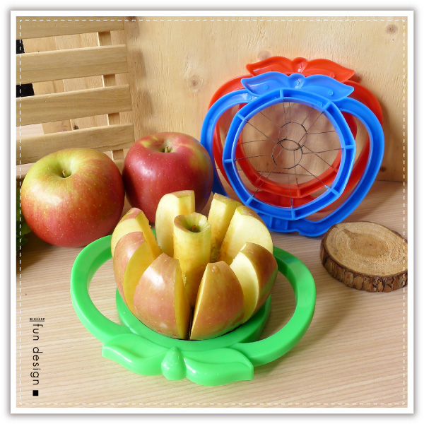 【aife life】切蘋果器/多功能不鏽鋼蘋果切片器/水果切片器/蘋果刀/去核切果器/切割器/蘋果削片器/不鏽鋼切果器