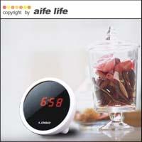 【aife life】戀愛魔鏡LED電子鐘/鬧鐘/時鐘,美人心機鏡面鐘,可當鏡子又可當時鐘,日韓熱賣鐘