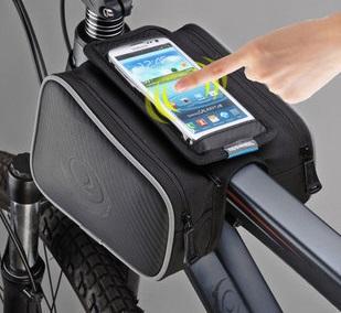 【露營趣】中和 TNR-086 自行車馬鞍包 馬鞍袋 工具袋 工具包 雜物袋 5.5吋手機袋 反光警示