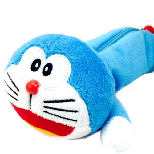 【真愛日本】15071500027 全身趴姿筆袋-開嘴 Doraemon 哆啦A夢 小叮噹 筆袋 鉛筆盒 文具用品