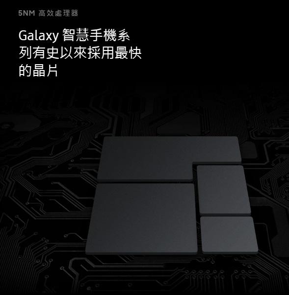 Galaxy 智慧手機系列有史以來採用最快的晶片