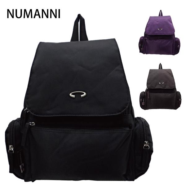 25-7806【NUMANNI 奴曼尼】隨興注目高質感尼龍後背包 (三色)
