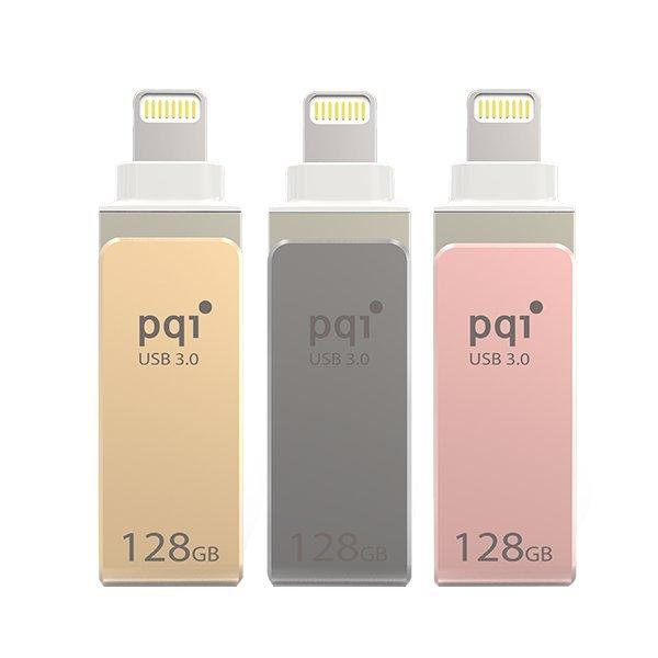 PQI iConnect mini 128GB USB 3.0 iPhone隨身碟
