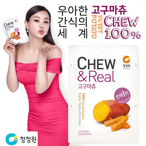 韓國 清淨園 CHEW&CRISPY 100%零添加地瓜條 60g