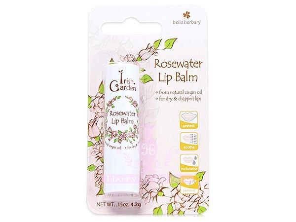 Bella Herbary 愛爾蘭經典香氛 玫瑰修護唇膏 4.2g