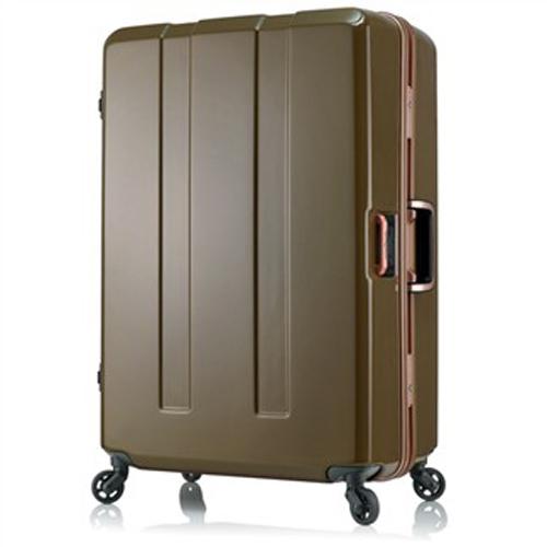 日本 LEGEND WALKER 6703-64-26吋 電子秤鋁框輕量行李箱 墨綠