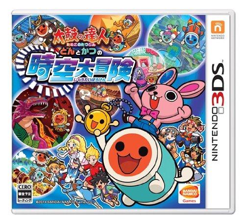 現貨供應中 日版 日規機專用軟體 [普通級] 3DS 太鼓之達人 時空大冒險