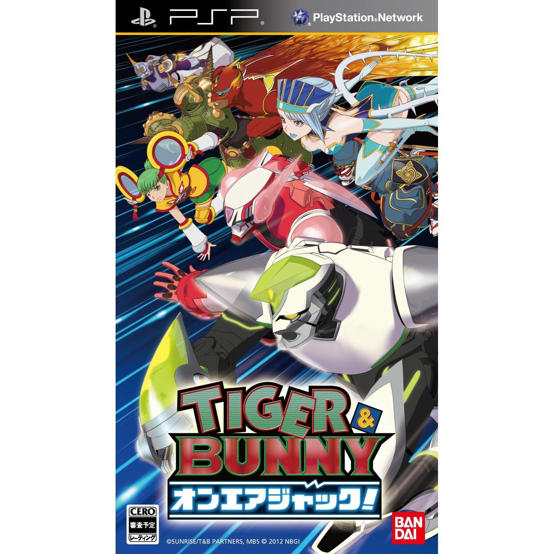[普通級] PSP TIGER & BUNNY實況任務 亞洲日文版