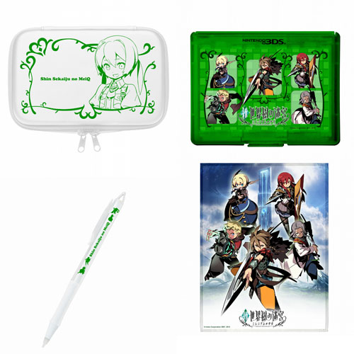 [3DS LL/XL周邊組] 3DS 新‧世界樹的迷宮:千年王國的少女 配件組