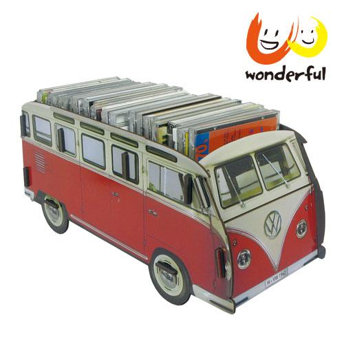 Werkhaus 福斯VW T1多用途儲物盒 (紅)
