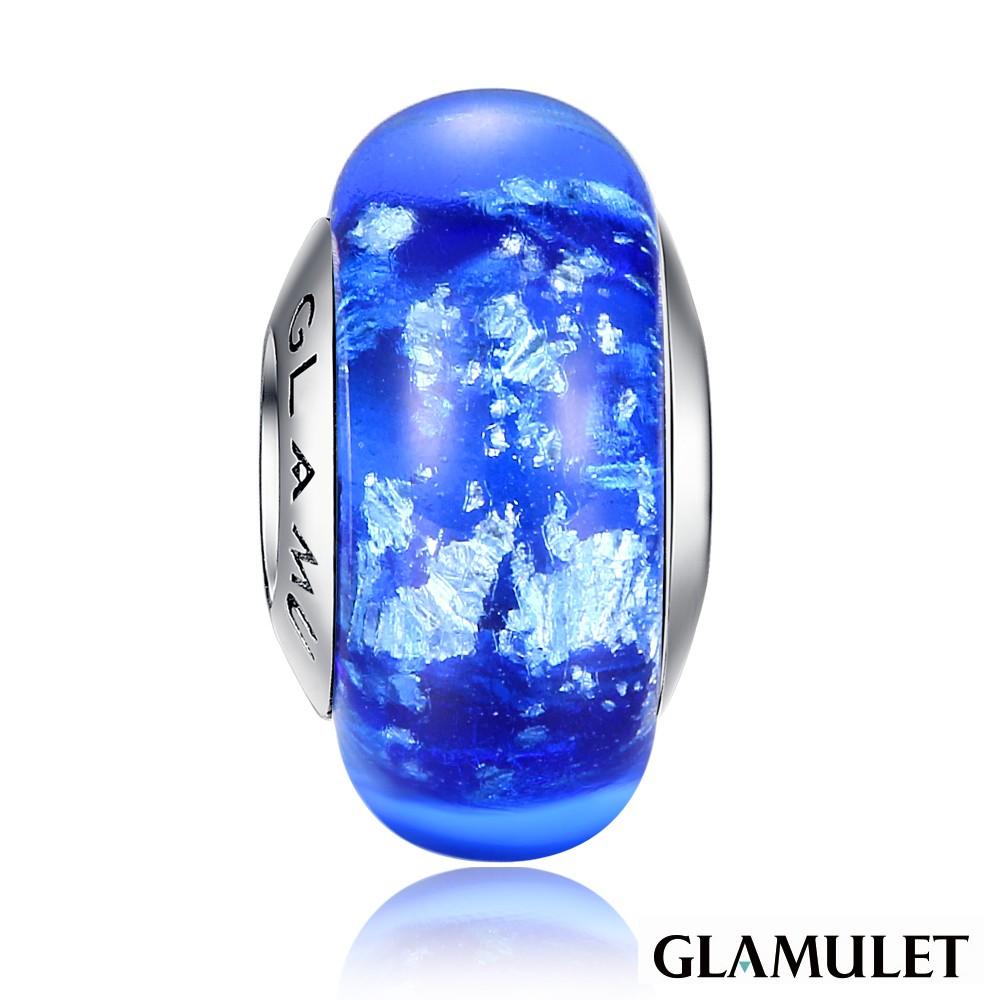 Glamulet格魅麗925純銀水晶屹立海洋中的冰川琉璃珠