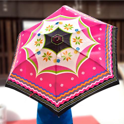 雨傘◆原民印象傘◆防潑水◇抗UV◇玻璃纖維傘骨◆自動開合傘