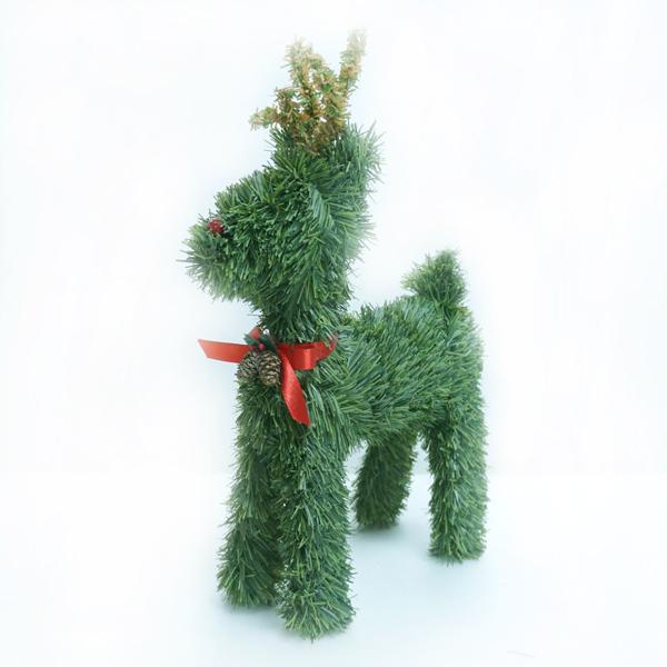『冬季生活限定』可愛綠色小鹿擺飾組