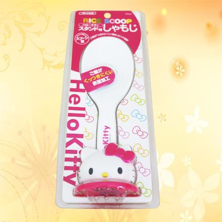 【敵富朗超巿】HELLO Kitty直立飯匙
