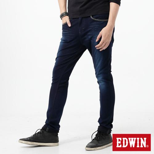 【2000元優惠↘】EDWIN JERSEYS 503迦績CARGO 牛仔褲-男款 酵洗藍