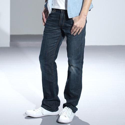 【5折優惠↘】輕鬆牛仔 EDWIN 503 EDGE LINE 直筒褲-男款 中古藍【單筆滿2000結帳輸入 NGNN-SXDL-3YZU-WCH0→現折200元】