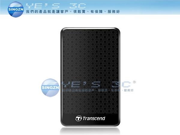 「YEs 3C」全新 TRANSCEND 創見 StoreJet 25A3 1TB 2.5吋 1T 行動硬碟 防震 單鍵備份 USB3.0 USB 3.0 有發票 免運 yes3c
