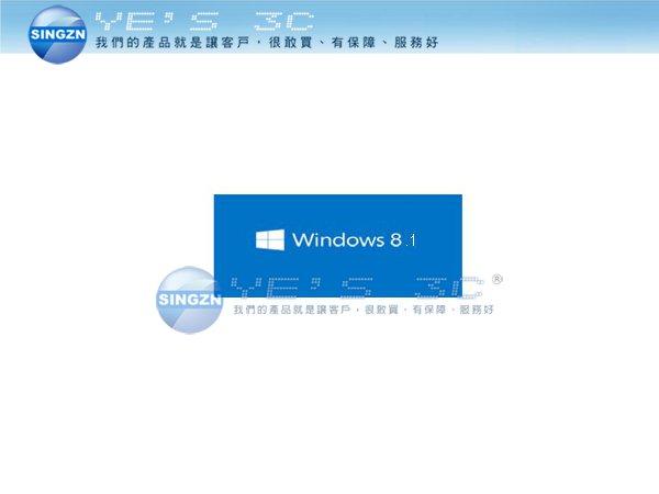 「YEs 3C」全新 Windows 8.1 家用中文版 64位元 隨機版 Win 8.1 64bit 標準版 不可轉移 免運 yes3c