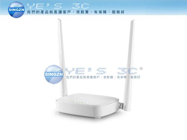 「YEs 3C」全新 Tenda 騰達 N301 300M 11n雙天線無線寬頻分享器 WDS橋接 yes3c 4ne