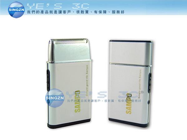 「YEs 3C」SAMPO 聲寶 EA-Z1109L 超薄充 黑色 超薄名片型 電式刮鬍刀 yes3c