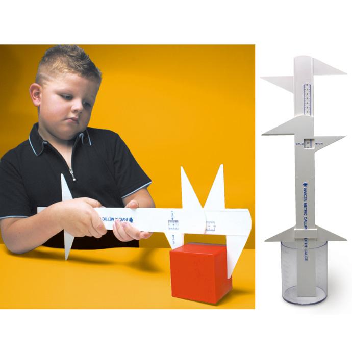 【華森葳兒童教玩具】數學教具系列-萬用尺 N4-IV038-C003