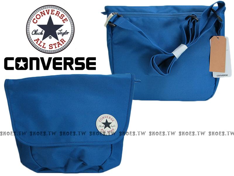 【12596C431】CONVERSE ALLSTAR 郵差包 海軍藍 隨行包 側背包