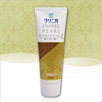 【日本製】LION 獅王 固力寧佳珍珠亮白牙膏 檸檬薑萃 130g