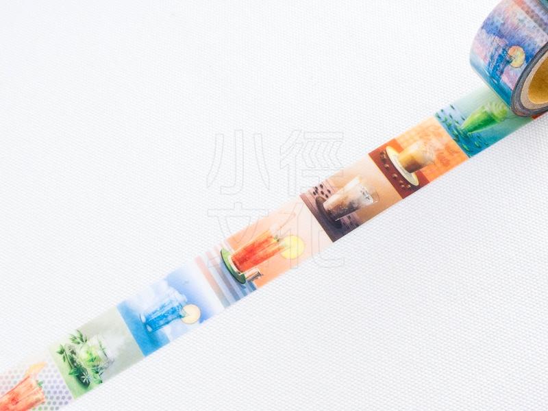 *小徑文化*日本進口 星空百貨 原創和紙膠帶 3rd. - cafe ( HH-FU02 )
