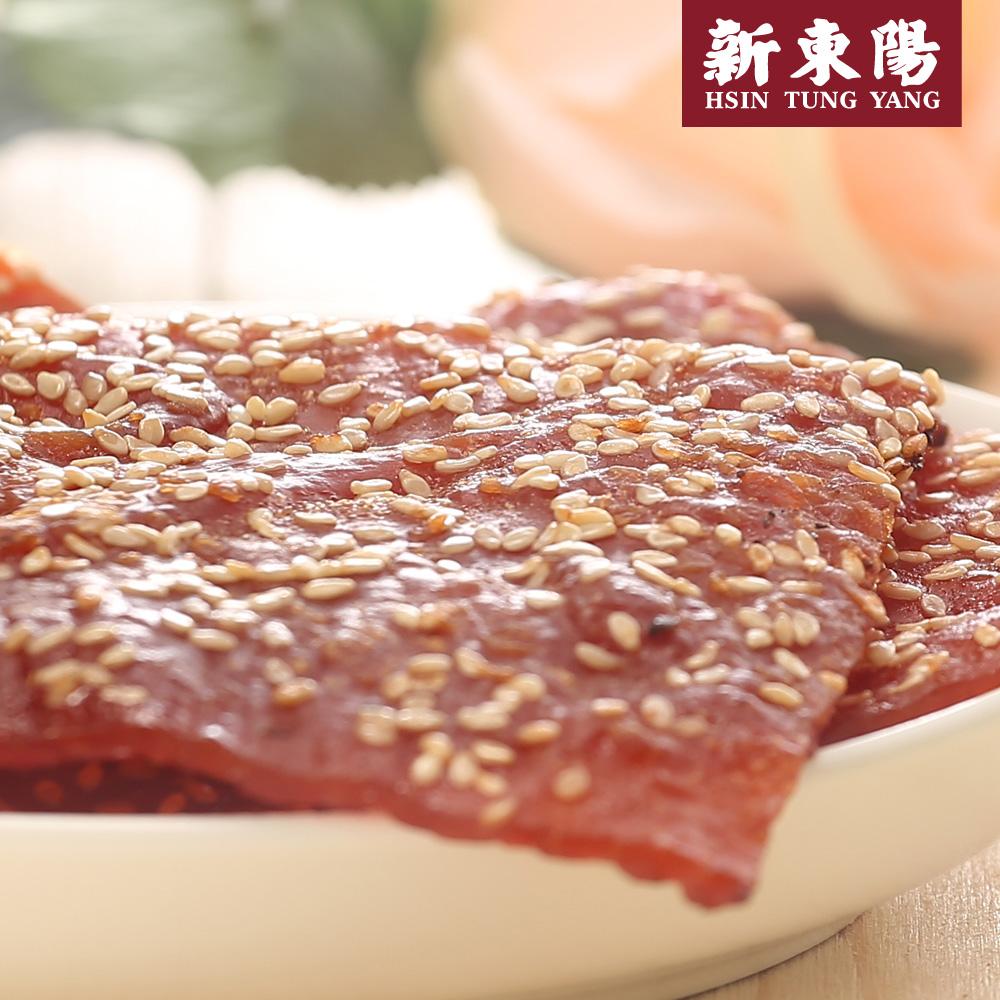 【新東陽】碳烤芝麻豬肉乾310g