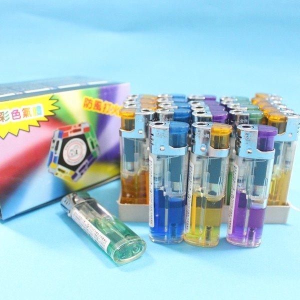 防風打火機 K-06 電子打火機(電子式/透明管)/一個入{定20}