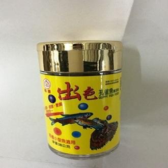 【洁好水族寵物世界】福壽出色孔雀魚飼料38g