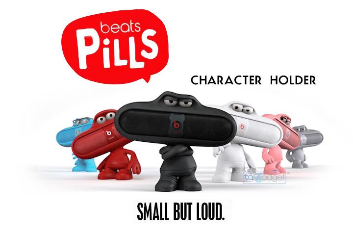 Beats pill character 造型喇叭架 時尚六色(本產品不含藍芽喇叭)