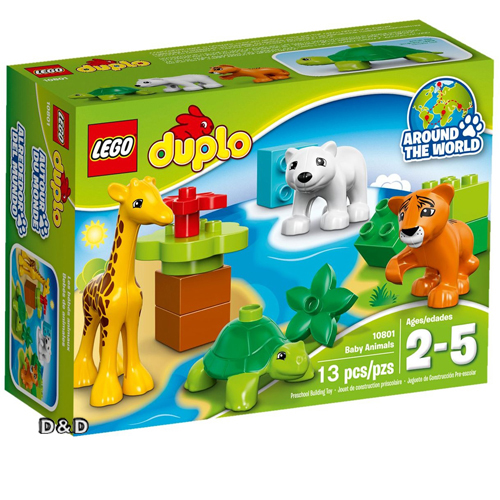 樂高積木 LEGO《 LT10801 》2016 年 Duplo 幼兒系列 - 動物寶寶