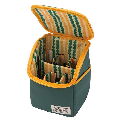 【露營趣】中和 附手電筒 Coleman料理調味盒II 調味瓶收納袋 調味料收納袋 調味罐收納袋 CM-26810