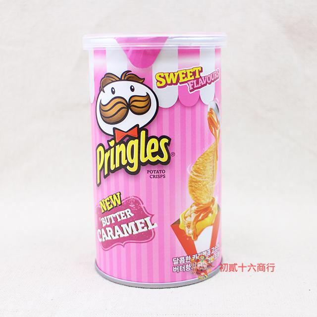 【0216零食會社】粉紅品客奶油焦糖口味53g